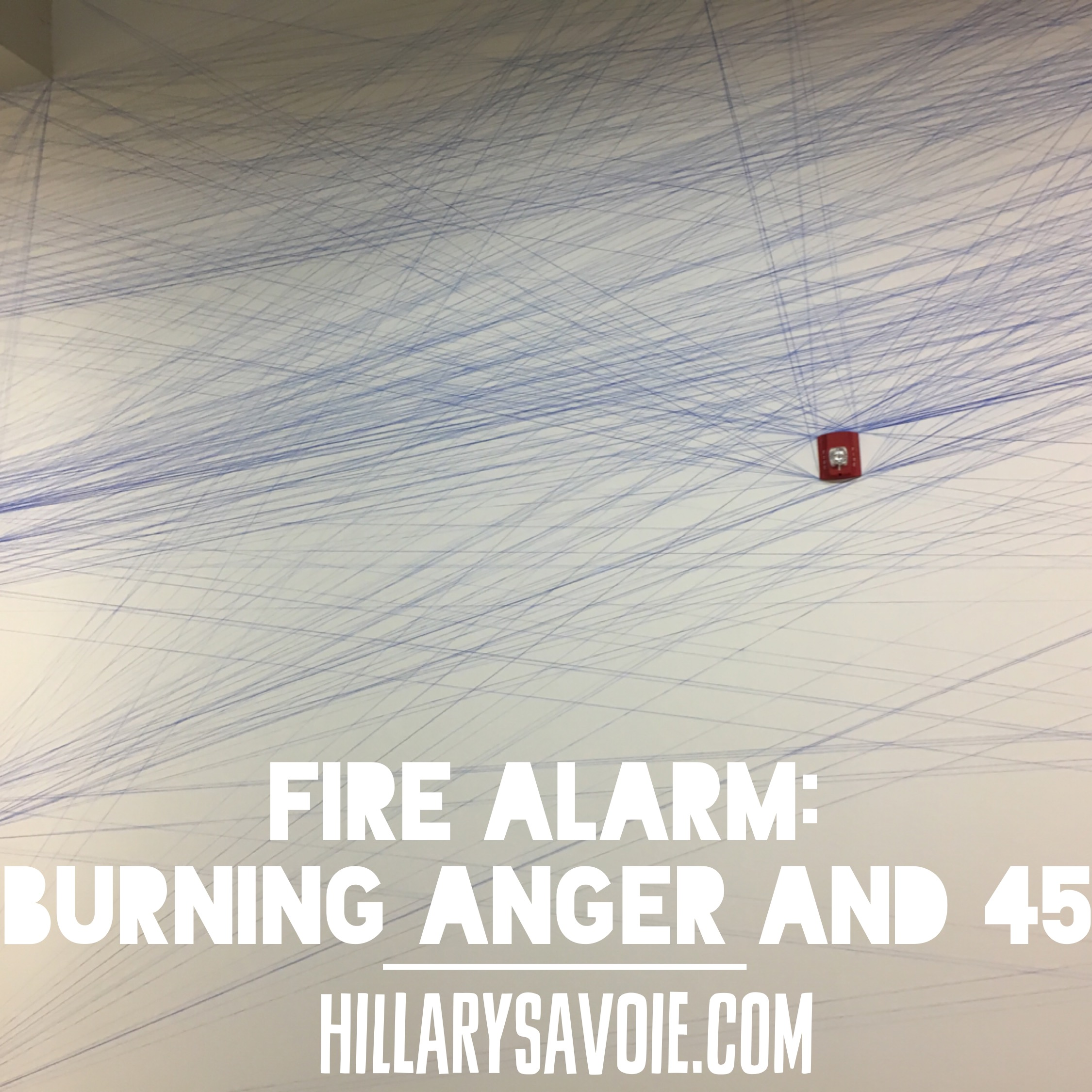 Fire Alarm: Burning Anger and 45