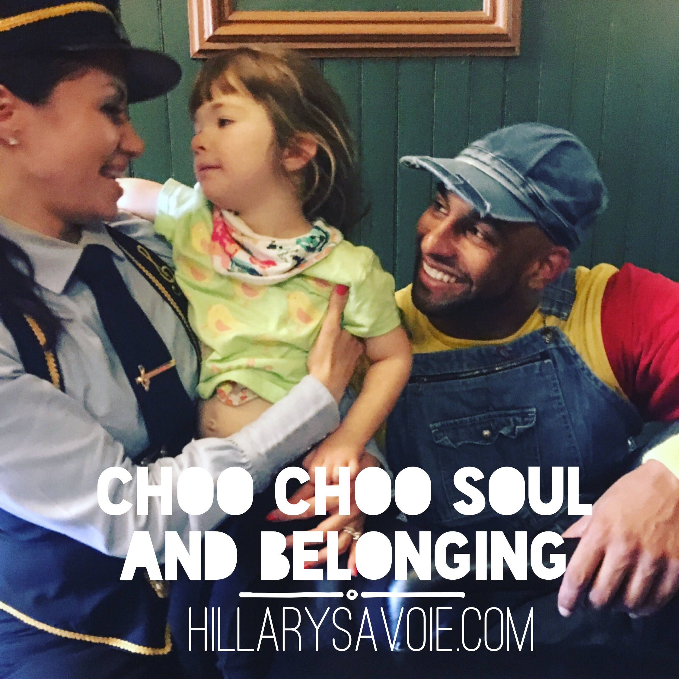 Choo Choo Soul and Belonging: A Finish The Sentence Friday Post
