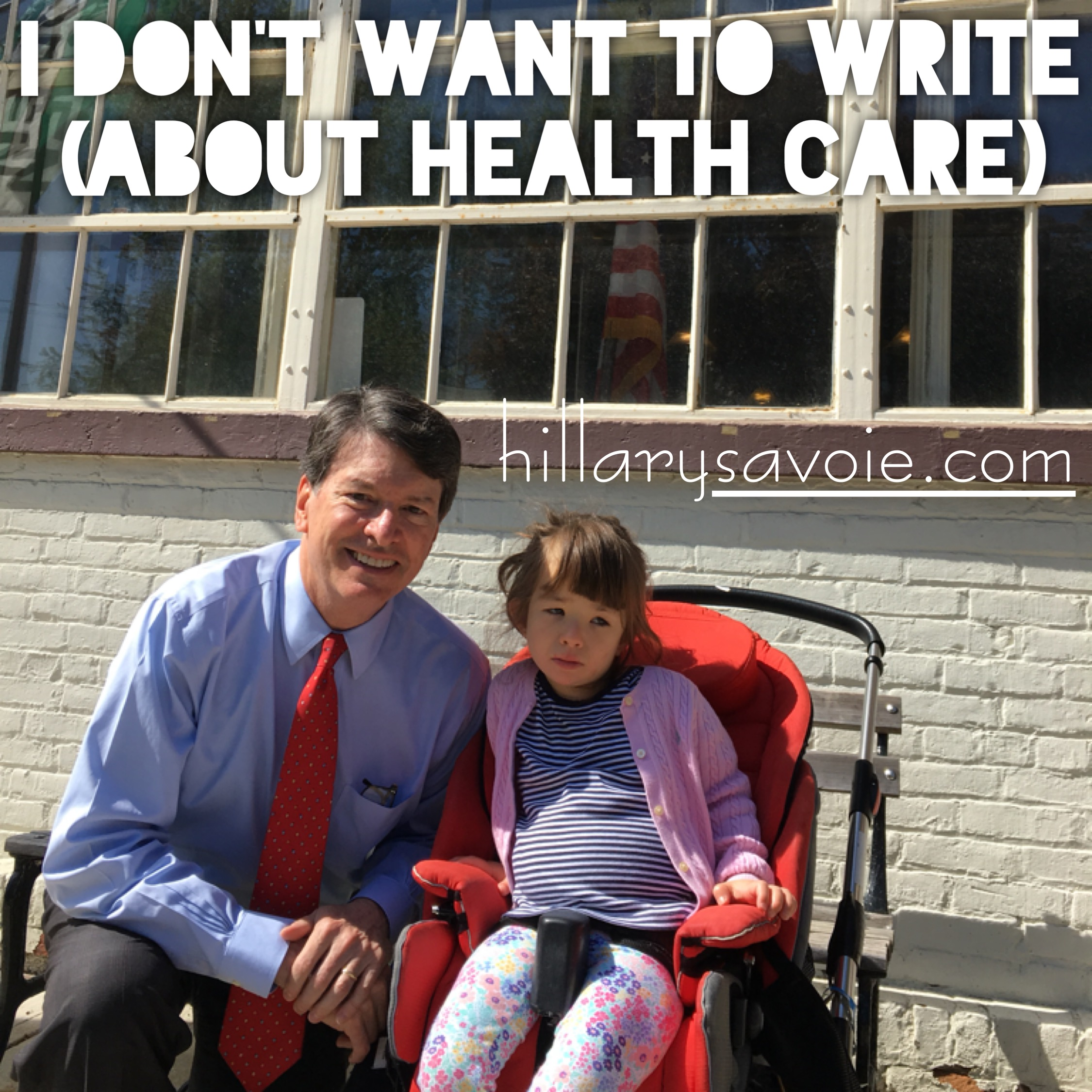 I Don't Want To Write (About Health Care)